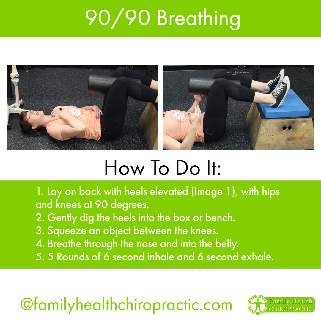 90 90 Breathing