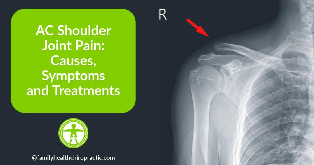AC shoulder joint pain