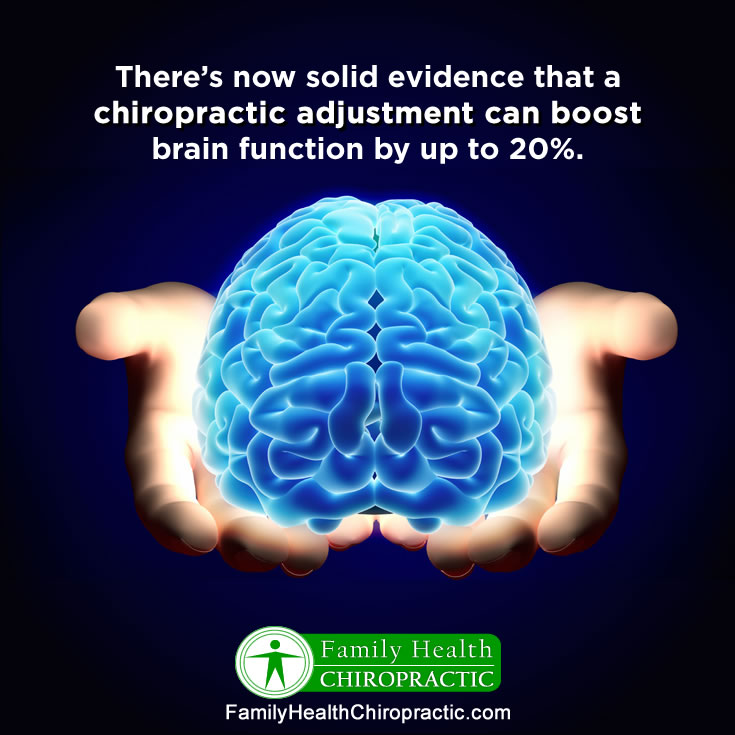 seek our regular chiropractic adjustments near you to boost brain function