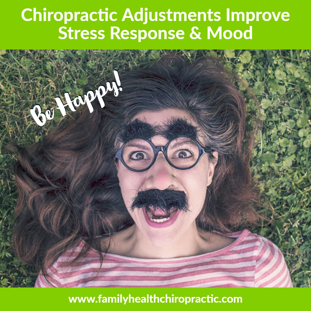 chiropractic adjustment benefits include reduced stress and better mood