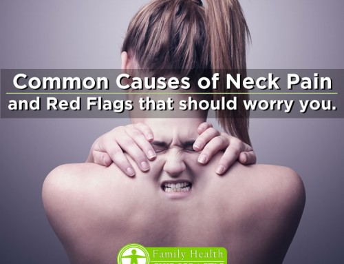 Causes of Neck Pain and When to Worry About It