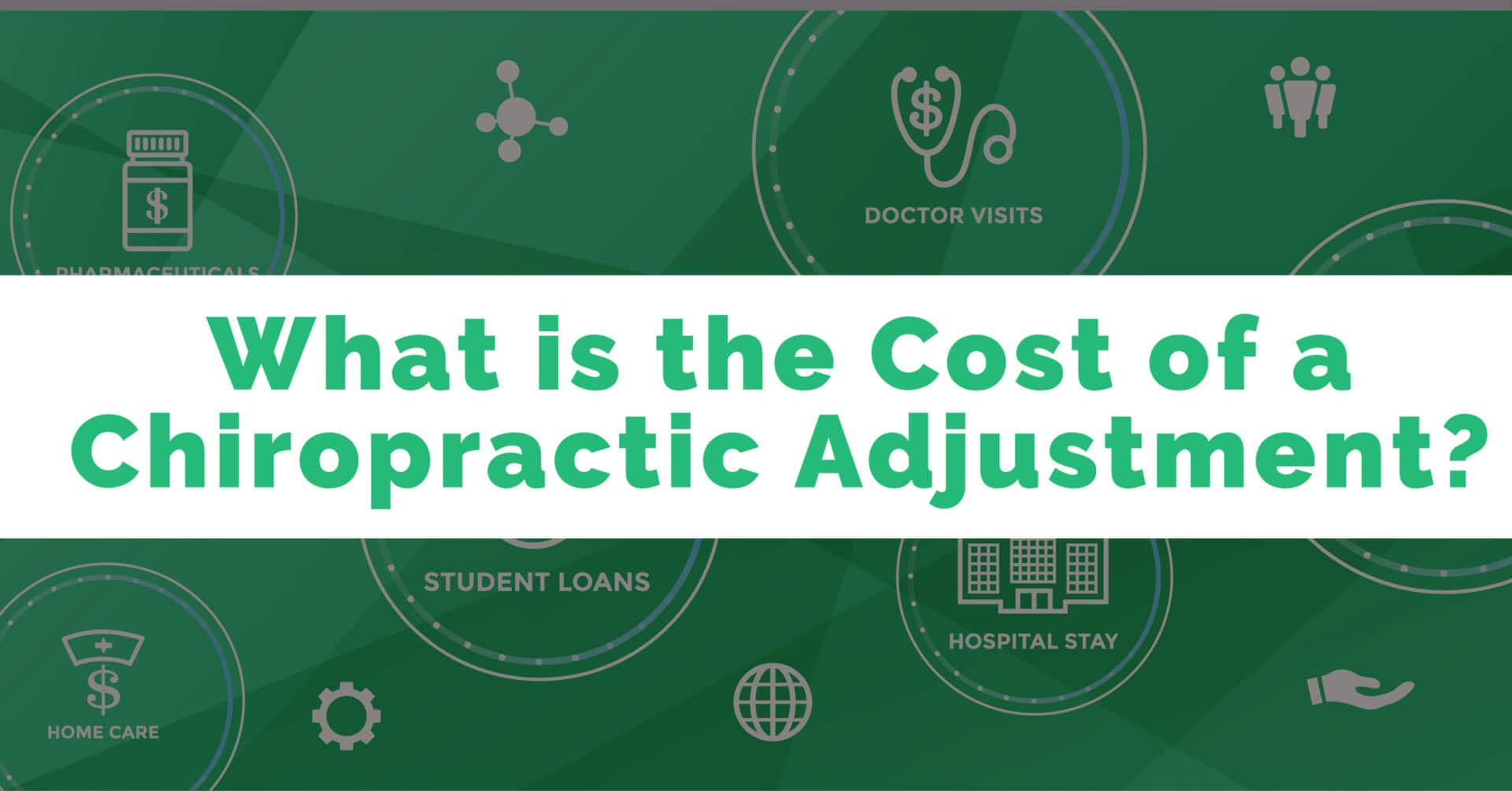The Cost of a Chiropractic Adjustment | Family Health ...