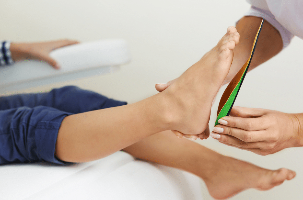 Orthotic inserts for feet
