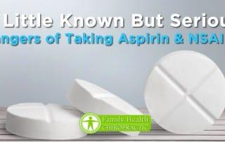 dangers of taking aspirin and nsaids