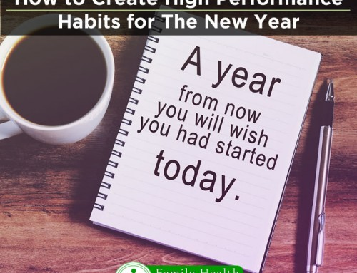 How to Create High-Performance Habits Before New Years