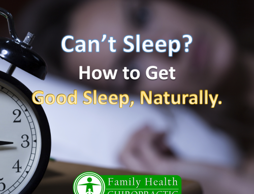 How to Get a Good Night's Sleep, Naturally.