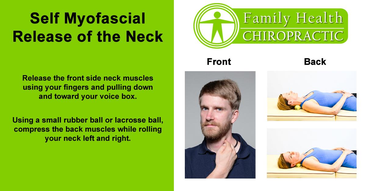 self myofascial release of neck