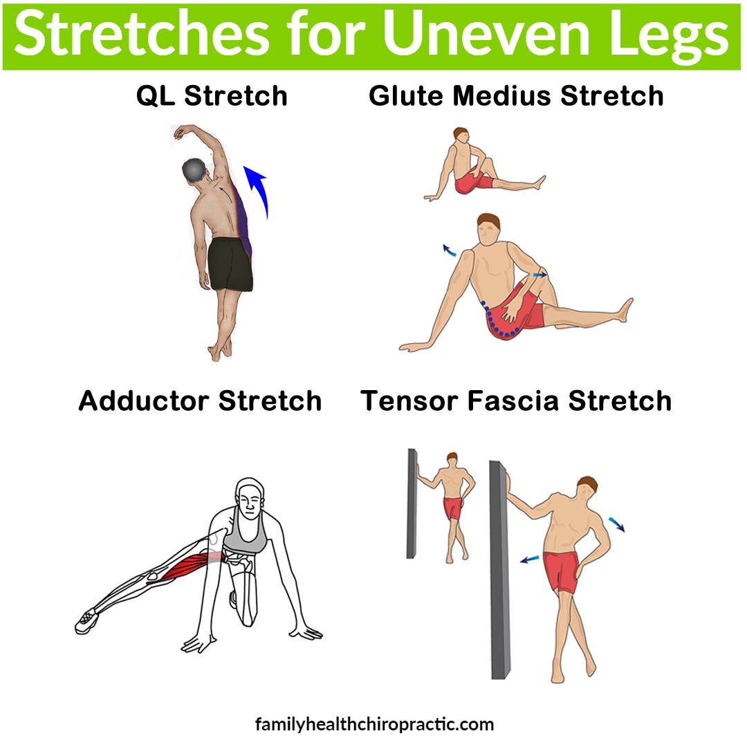 stretches for uneven legs