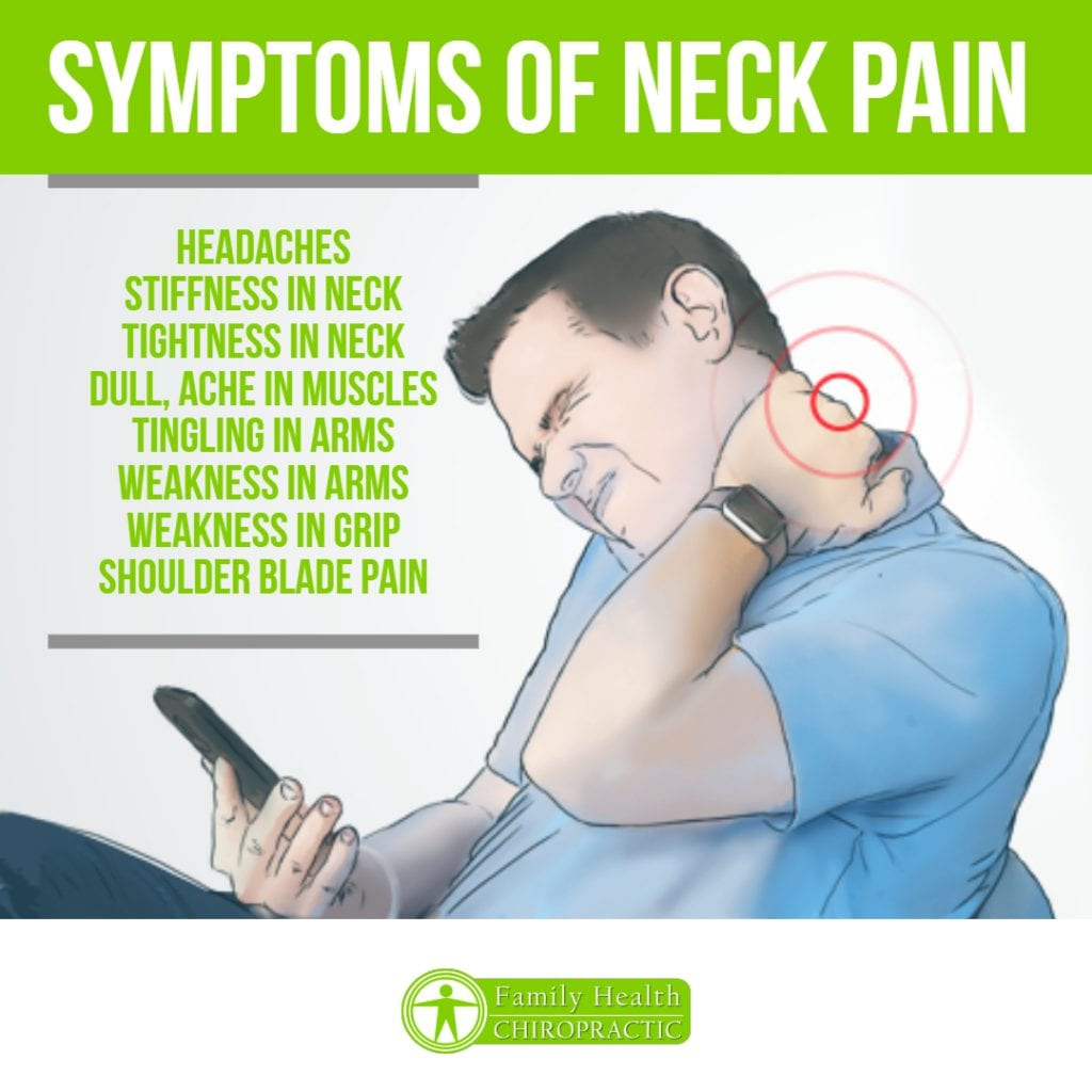 symptoms of neck pain austin texas doctor
