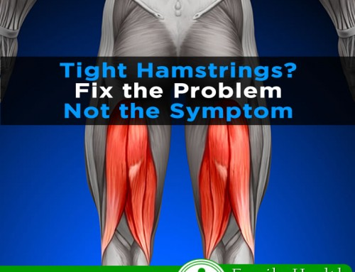 Tight Hamstrings? Fix the problem, not the symptom!